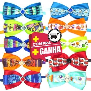 Gravata Borboleta GG - 10 unidades Sortidas - DESCONTOS a partir de 3, 5 e 10 Pacotes