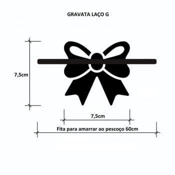 Gravata Laço G - 10 unidades Sortidas - DESCONTOS a partir de 3, 5 e 10 Pacotes