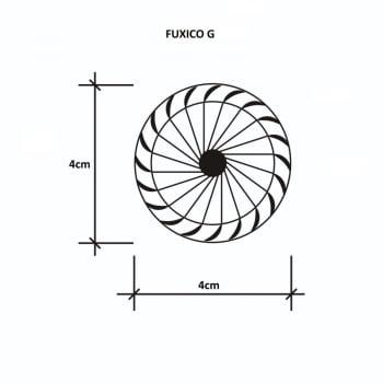 Kit Laços - Tamanhos P, M, G - 100 unidades Sortidas