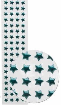 Cartela Adesiva M Estrela - Escolha a cor